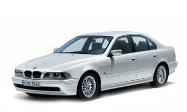 Коврики из экокожи 3D  BMW 5 (Е39) 1995 - 2003 (седан)