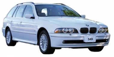 Коврики из экокожи 3D  BMW 5 (Е39) 1995 - 2003 (универсал)