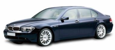 Текстильные коврики BMW 7 (E65) 2001 - 2008