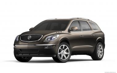 Коврики из экокожи 3D  Buick Enclave I (2007-2013)