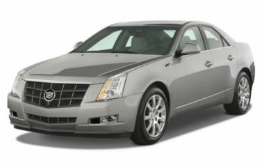 Текстильные коврики Cadillac CTS 2002 - 2013 4WD