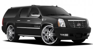 Текстильные коврики Cadillac Escalade III 2007 - 2014 (Platinum)
