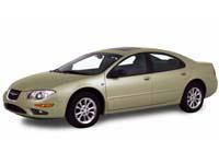 Текстильные коврики Chrysler 300М 1998-2004