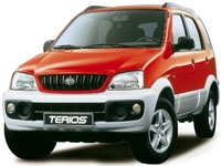 Коврики из экокожи 3D  Daihatsu Terios I 1997-2006