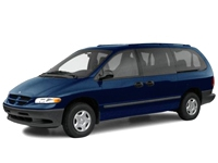 Текстильные коврики Dodge Caravan III 1995 - 2000