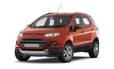 Текстильные коврики Ford Ecosport 2013 - наст. время