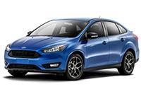Текстильные коврики Ford Focus III 2015 - наст. время (Рестаил) (седан)