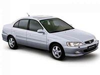 Коврики из экокожи 3D  Honda Accord VI (правый руль) 1998 - 2002