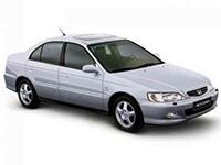 Коврики из экокожи 3D  Honda Accord VI Hatchback 1998 - 2002
