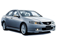 Коврики из экокожи 3D  Honda Accord VII 2003 - 2008