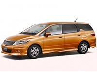 Коврики из экокожи 3D  Honda Airwave (правый руль) 2005 - 2010