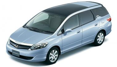 Коврики из экокожи 3D  Honda Airwawe 2004-2010