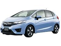 Текстильные коврики Honda Fit II (правый руль) 2008 - 2013