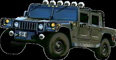 Текстильные коврики Hummer H1 1992-2006