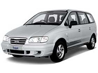 Коврики из экокожи 3D  Hyundai Trajet 2000 - 2008
