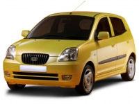 Коврики из экокожи 3D  Kia Picanto I 2004 - 2011