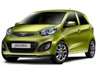 Коврики из экокожи 3D  Kia Picanto II 2011 - 2017