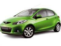 Коврики из экокожи 3D  Mazda 2 (DE/DE2) 2007-2014