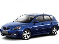 Коврики из экокожи 3D  Mazda 3 (BK) 2003 - 2009 (хэчбек)