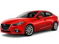 Коврики из экокожи 3D  Mazda 3 2013 - наст. время (седан)