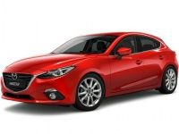 Коврики из экокожи 3D  Mazda 3 2013 - наст. время (хечбек)