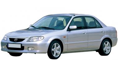 Коврики из экокожи 3D  Mazda 323 VI (BJ) 1998 - 2003
