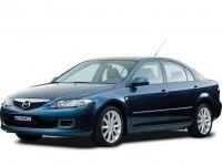 Коврики из экокожи 3D  Mazda 6 (GG) 2002 - 2008