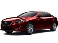 Коврики из экокожи 3D  Mazda 6 III GJ 2012 - наст. время