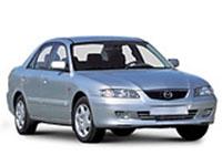 Коврики из экокожи 3D  Mazda 626 V 1997 - 2002