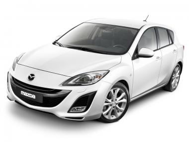 Коврики из экокожи 3D  Mazda Axela (правый руль) 2009 - 2013 (хэчбек)