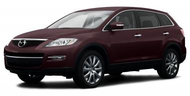 Коврики из экокожи 3D  Mazda CX-9 (5 мест) 2007 - 2016