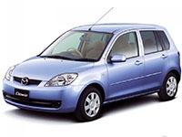Коврики из экокожи 3D  Mazda Demio (DY, правый руль) 2002 - 2007