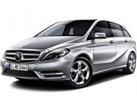 Коврики из экокожи 3D  Mercedes B-класс W246 2011 - наст. время