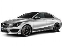 Коврики из экокожи 3D  Mercedes CLA-класс 2013 - наст. время