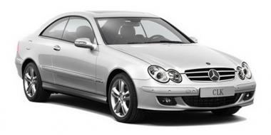 Коврики из экокожи 3D  Mercedes CLK-класс W209 2002 - 2010