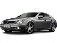 Коврики из экокожи 3D  Mercedes CLS-класс (W219) 2004 - 2010