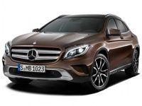 Коврики из экокожи 3D  Mercedes GLA-класс 2013 - наст. время
