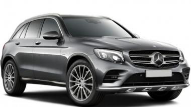 Коврики из экокожи 3D  Mercedes GLC-класс X253 2015 - наст. время