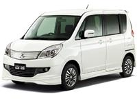 Текстильные коврики Mitsubishi Delica D:2 (2011 – 2015) правый руль