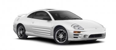 Текстильные коврики Mitsubishi Eclipse III 1999 - 2006