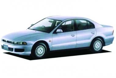 Текстильные коврики Mitsubishi Galant VIII (правый руль) 1996 - 2006