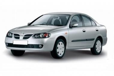 Коврики Eva Nissan Almera (N16, правый руль) 2000 - 2006