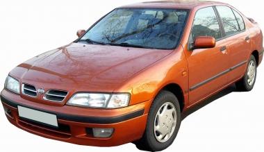 Текстильные коврики Nissan Primera (P11, правый руль) 1995 - 2002
