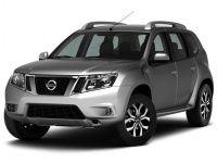 Текстильные коврики Nissan Terrano III 2014 - наст. время (4WD)