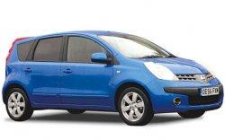 Коврики из экокожи 3D  Nissan Note I (правый руль) 2005 - 2014