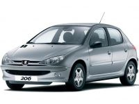 Текстильные коврики Peugeot 206 1998 - наст. время