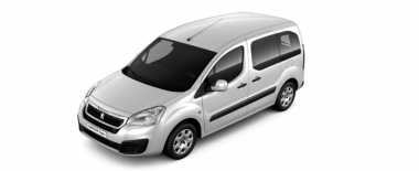 Текстильные коврики Peugeot Partner Tepee 2007 - 2012