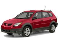 Коврики из экокожи 3D  Pontiac Vibe I 2002 - 2008