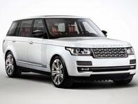 Текстильные коврики Range Rover IV 2012 - наст. время (long)