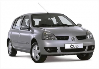 Текстильные коврики Renault Clio II 1998 - 2013